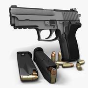 Sig Sauer P229 Nitron 9mm 3d model