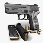 Sig Sauer P229 Extreme 9mm 3d model