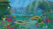 水中 3d model