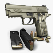 Sig Sauer P229 Scorpion 9mm 3d model