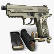 Sig Sauer P229 Scorpion TB 9mm 3d model