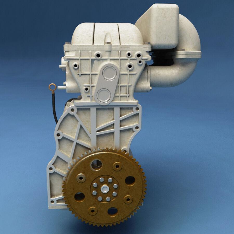 車のシャーシとエンジン royalty-free 3d model - Preview no. 44