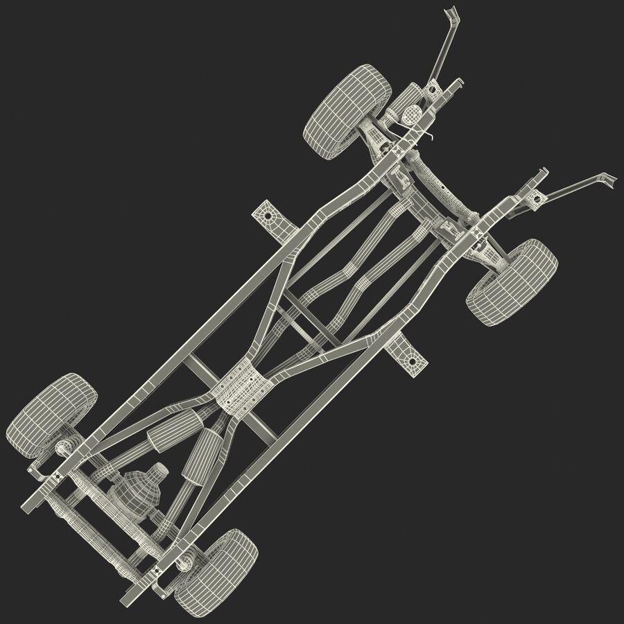 車のシャーシとエンジン royalty-free 3d model - Preview no. 24