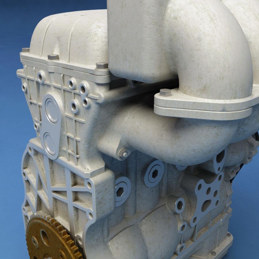 車のシャーシとエンジン royalty-free 3d model - Preview no. 53
