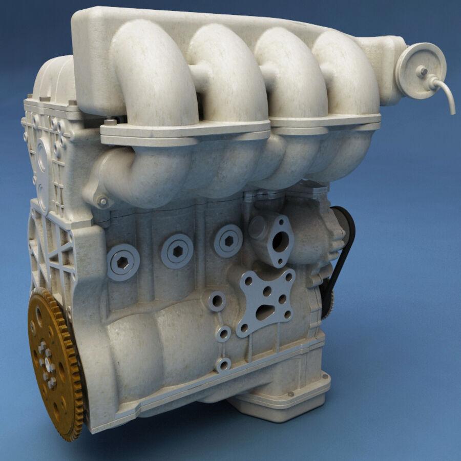 車のシャーシとエンジン royalty-free 3d model - Preview no. 45