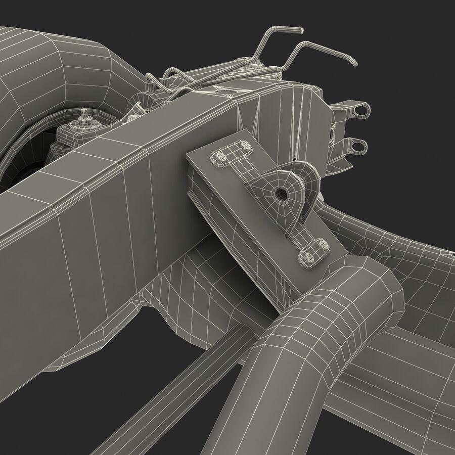 車のシャーシとエンジン royalty-free 3d model - Preview no. 29
