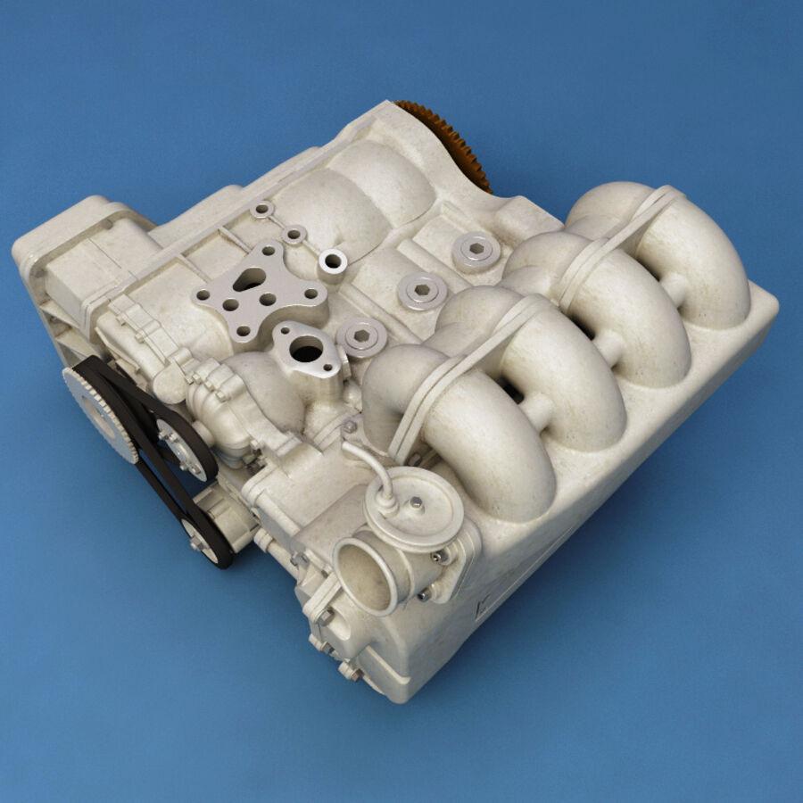 車のシャーシとエンジン royalty-free 3d model - Preview no. 56