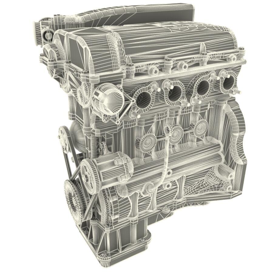 車のシャーシとエンジン royalty-free 3d model - Preview no. 58