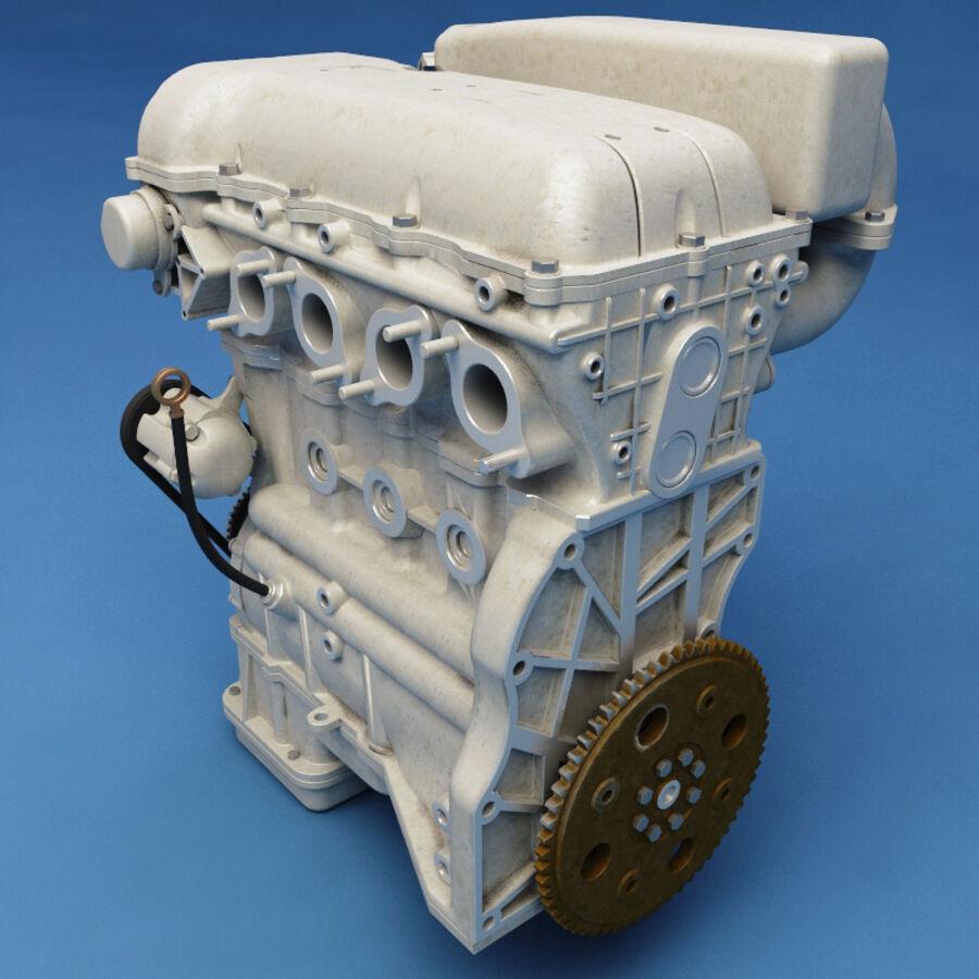 車のシャーシとエンジン royalty-free 3d model - Preview no. 43