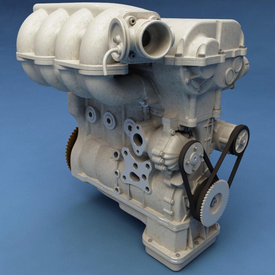 車のシャーシとエンジン royalty-free 3d model - Preview no. 46
