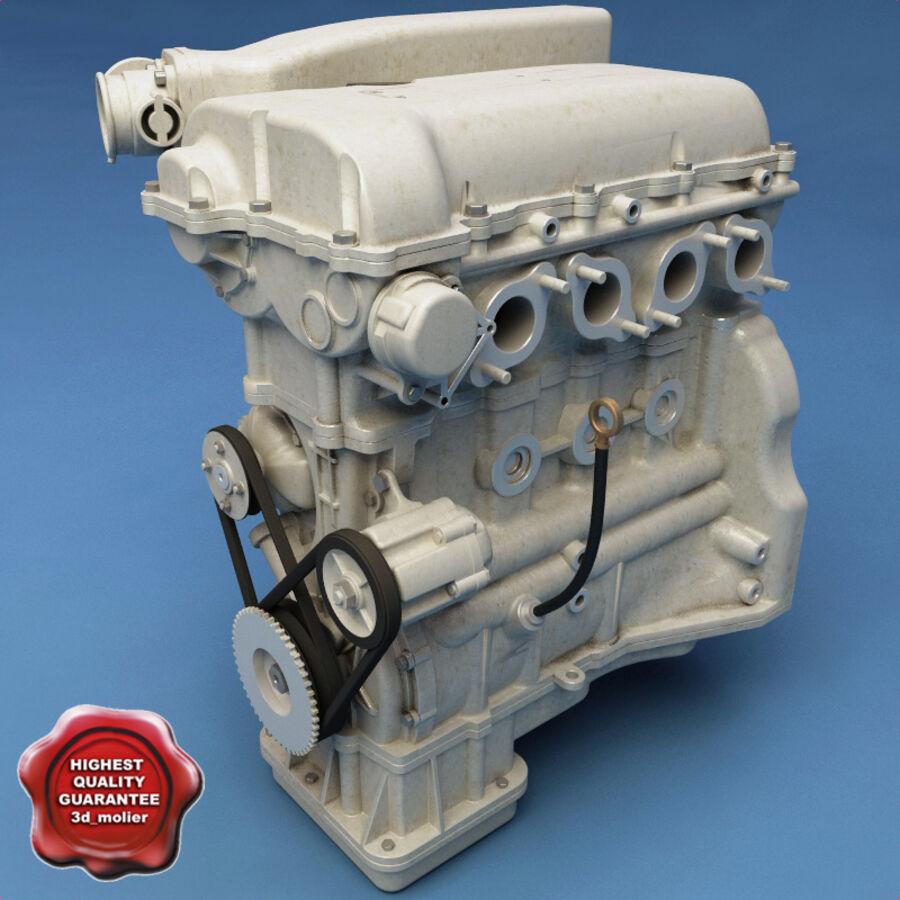 車のシャーシとエンジン royalty-free 3d model - Preview no. 39