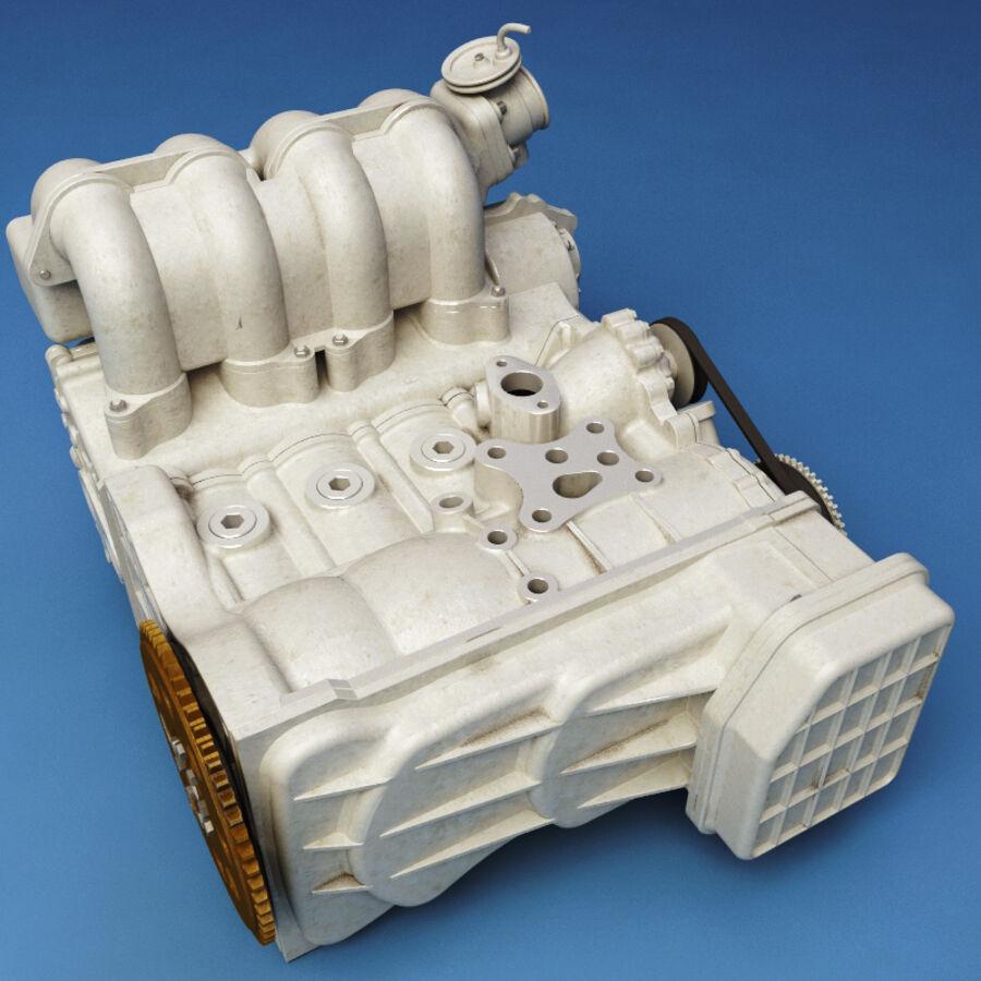 車のシャーシとエンジン royalty-free 3d model - Preview no. 41