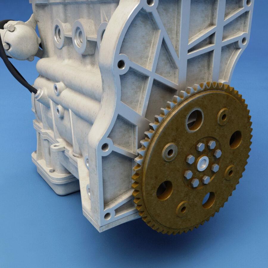 車のシャーシとエンジン royalty-free 3d model - Preview no. 50