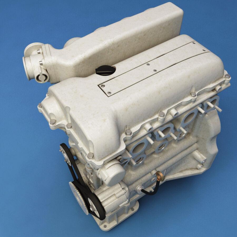 車のシャーシとエンジン royalty-free 3d model - Preview no. 48