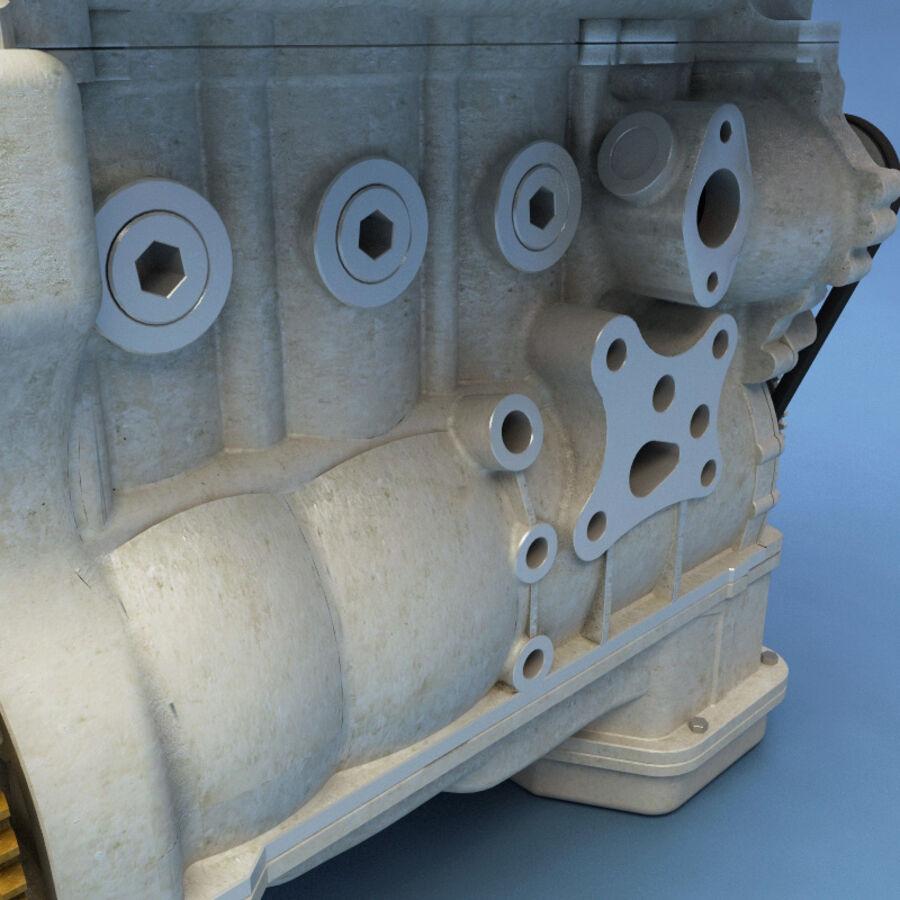 車のシャーシとエンジン royalty-free 3d model - Preview no. 54