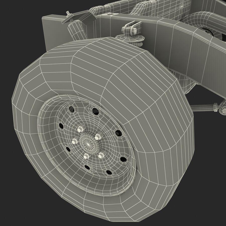 車のシャーシとエンジン royalty-free 3d model - Preview no. 35