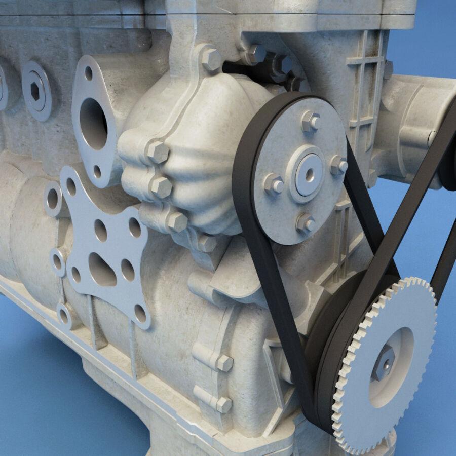 車のシャーシとエンジン royalty-free 3d model - Preview no. 55