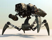 Robot da battaglia 3d model
