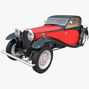 Bugatti T50 1933 3d model