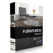 CGAxis Models Volume 25 Furniture III 3d model