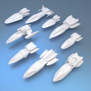 chasseur 3d model