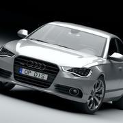 Audi A6 2012 3d model