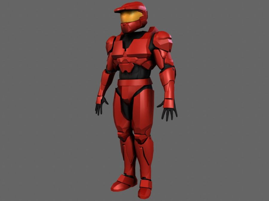 Halo Armor royalty-free 3d model - Preview no. 1