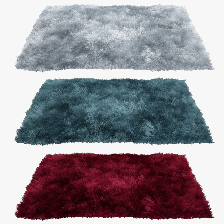 Rug 02 royalty-free 3d model - Preview no. 1