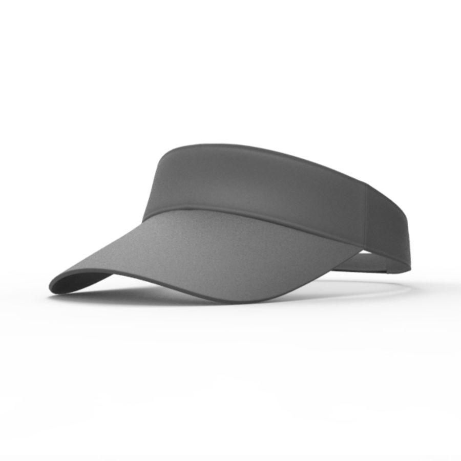 Visor Cap royalty-free 3d model - Preview no. 2