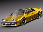 Lotus Esprit S2 Turbo 1978 3d model