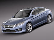 Honda Accord sedan 2013 3d model