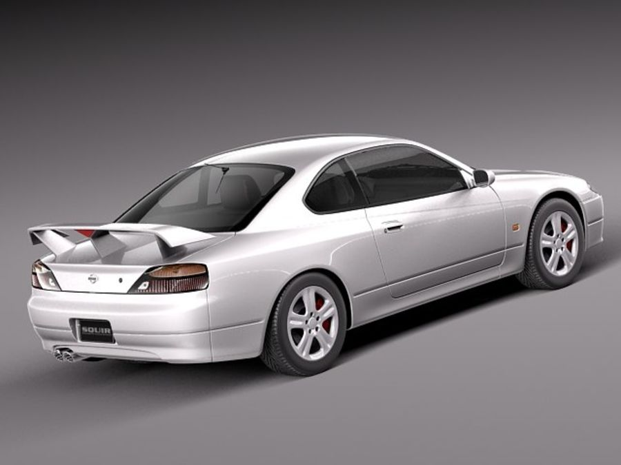 Nissan 240sx Silvia S15 1999-2002 royalty-free 3d model - Preview no. 5