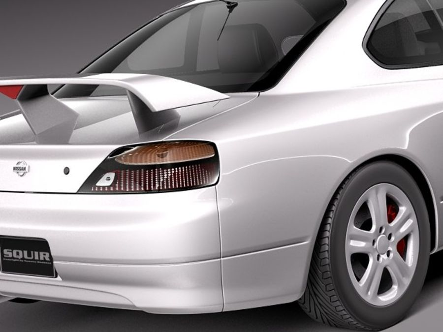 Nissan 240sx Silvia S15 1999-2002 royalty-free 3d model - Preview no. 4