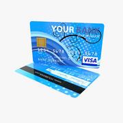 신용 카드 3d model