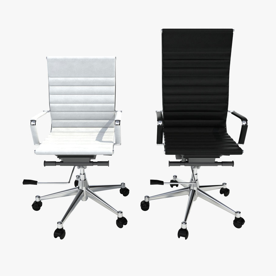 Modern Office Chair royalty-free 3d model - Preview no. 1