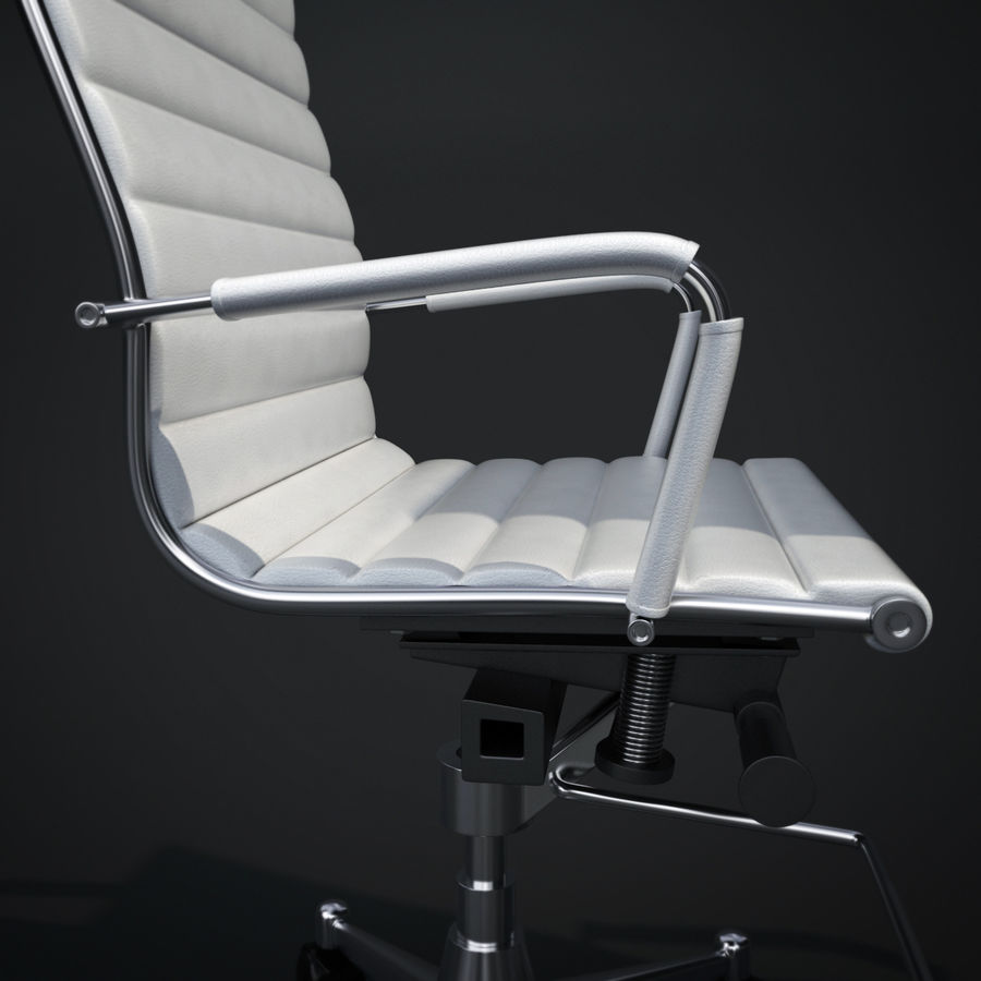 Modern Office Chair royalty-free 3d model - Preview no. 8