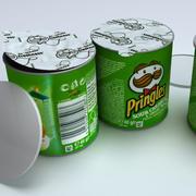 Pringles chips 3d model