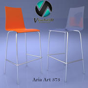 Chaise Aria Art 373 3d model