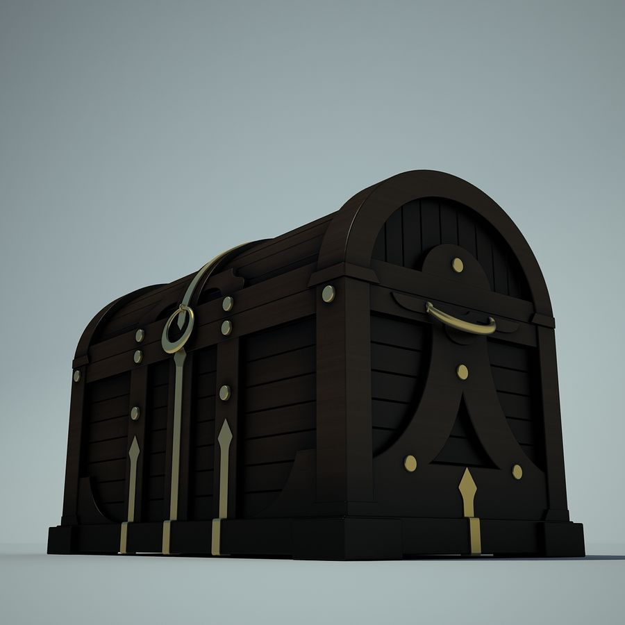грудь royalty-free 3d model - Preview no. 5