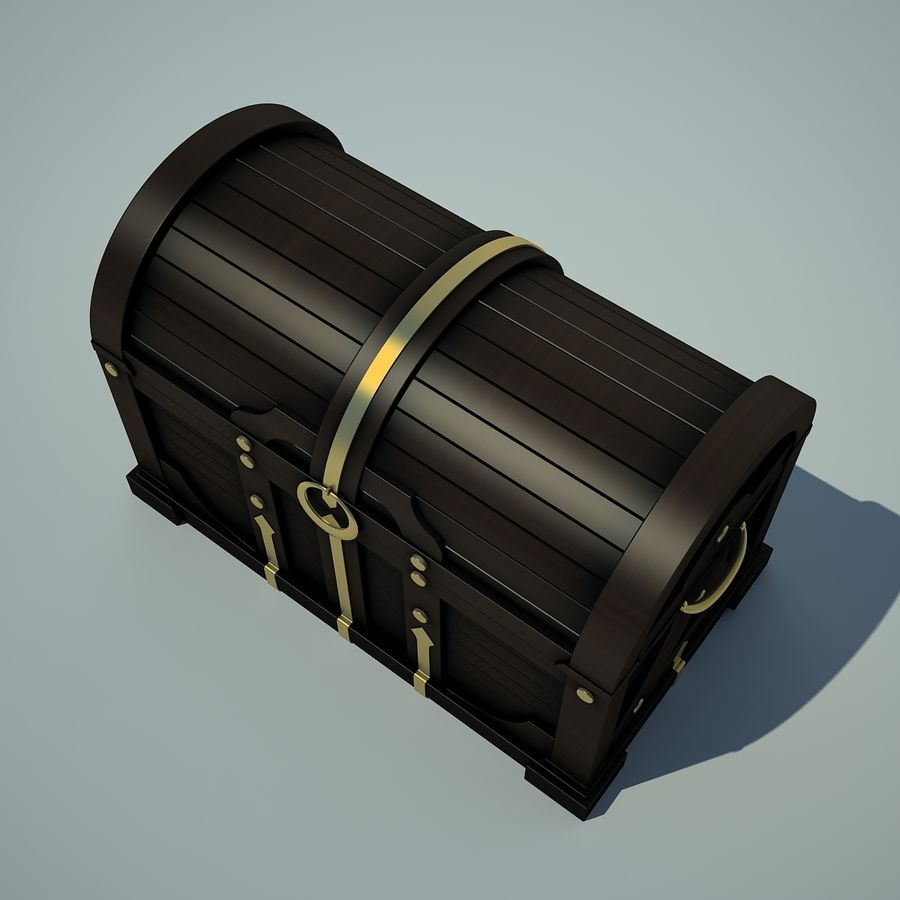 грудь royalty-free 3d model - Preview no. 3