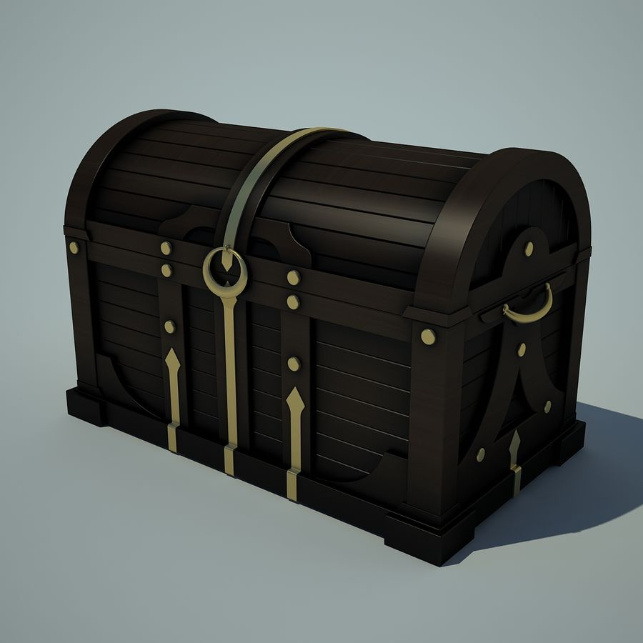 грудь royalty-free 3d model - Preview no. 1