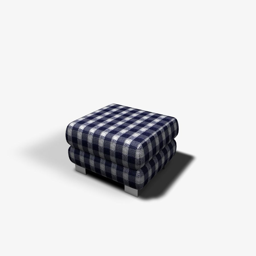Couch Chairs royalty-free 3d model - Preview no. 10