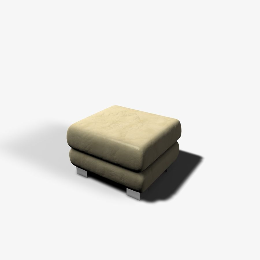 Couch Chairs royalty-free 3d model - Preview no. 9
