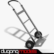 Ручная тележка 3d model