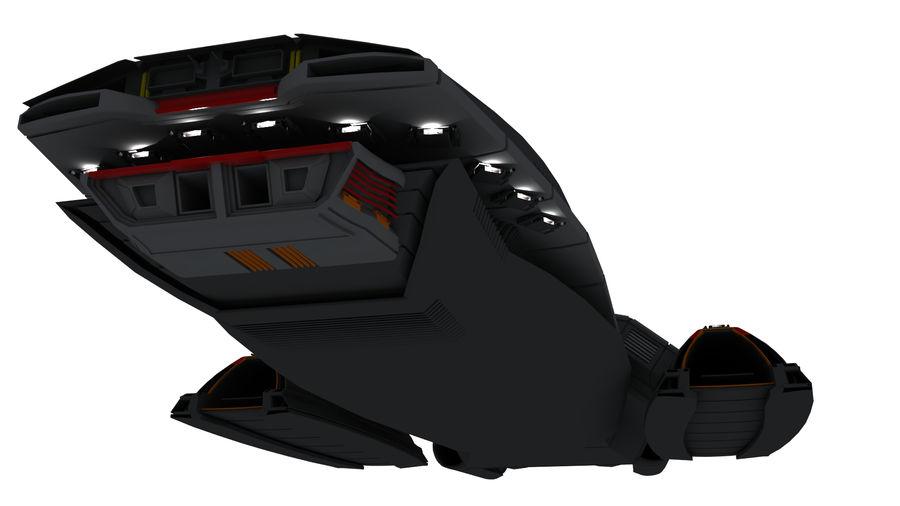 Battlestar Titan royalty-free 3d model - Preview no. 2