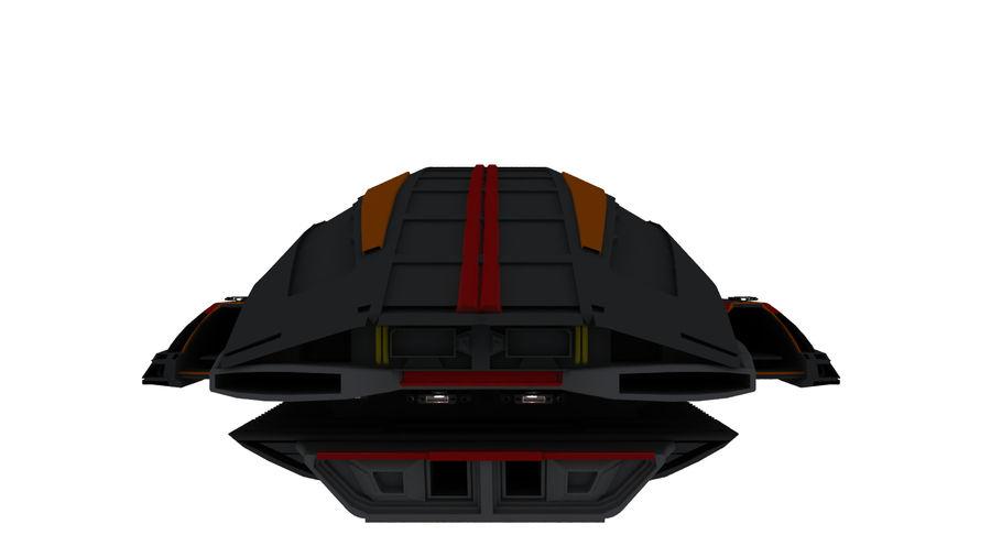 Battlestar Titan royalty-free 3d model - Preview no. 3