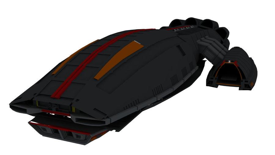 Battlestar Titan royalty-free 3d model - Preview no. 1