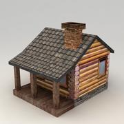 Landelijk huis 2 3d model