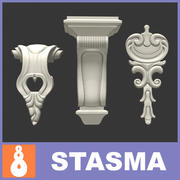 Carving Decor 3d model