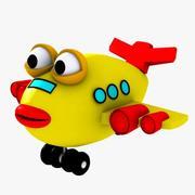 Игрушка Рыбный Самолет 3d model